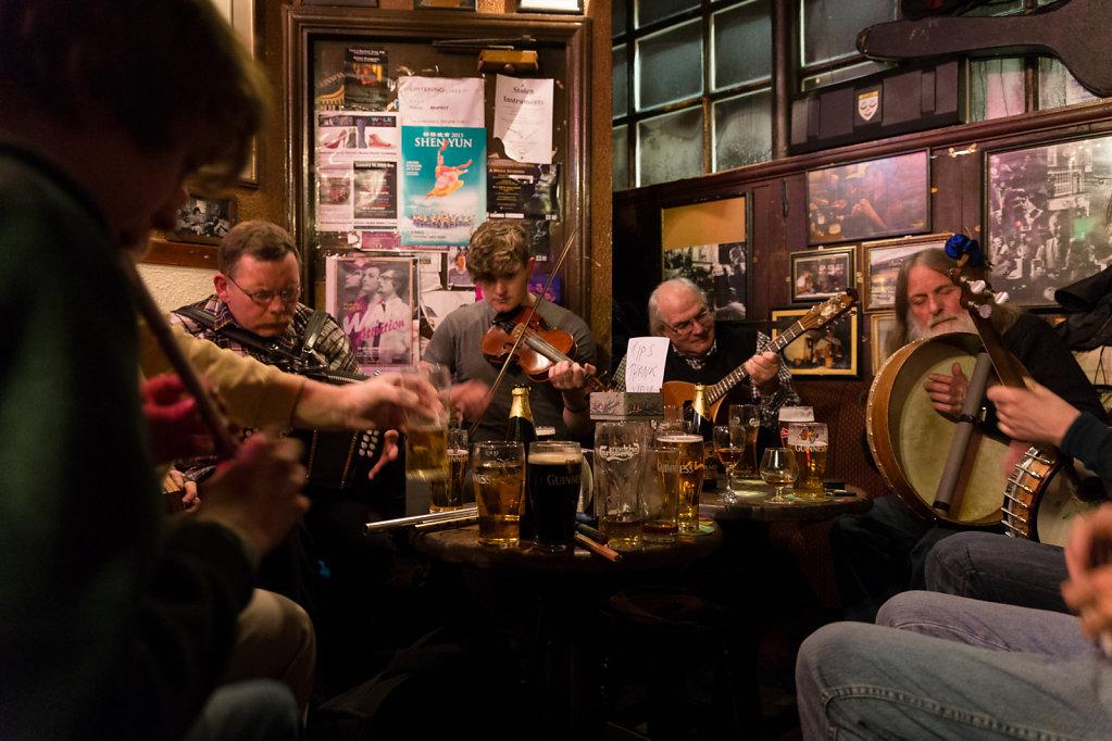Music at O'Donoghue's pub