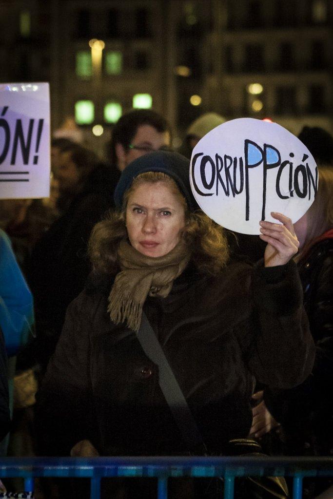 Las caras de la manifestación