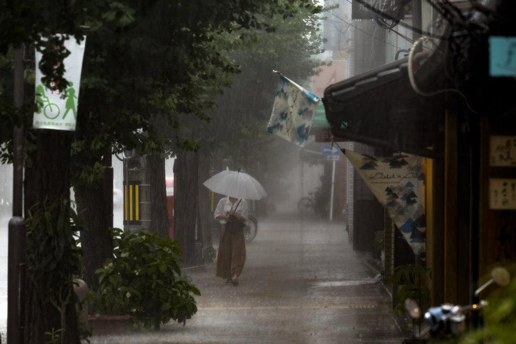 Rain in Kyoto